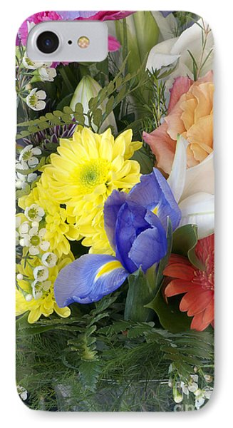 Floral Bouquet 4 IPhone Case by Sharon Talson