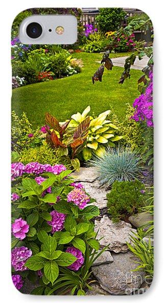 Flower Garden Phone Case by Elena Elisseeva