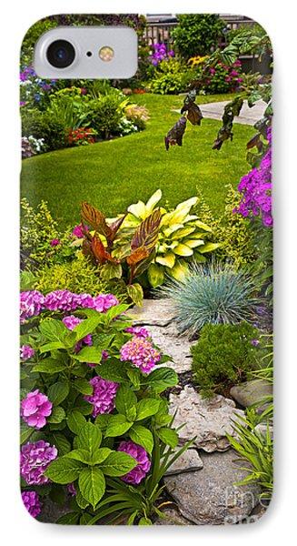 Flower Garden IPhone Case by Elena Elisseeva