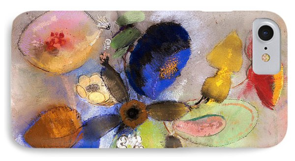 Flowers Phone Case by Odilon Redon