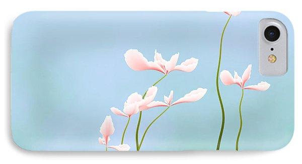 Flowers Of Peace Phone Case by GuoJun Pan