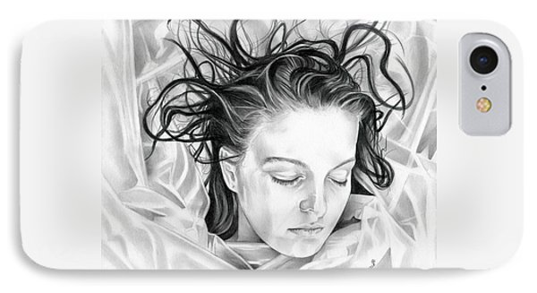 Forget Me Not - Laura Palmer - Twin Peaks IPhone Case by Fred Larucci