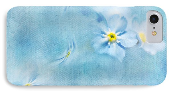 Forget-me-not IPhone Case by Svetlana Sewell