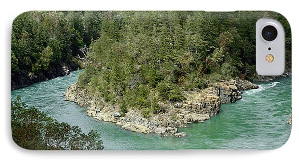 Forks Of The Smith River IPhone Case by Betty Depee