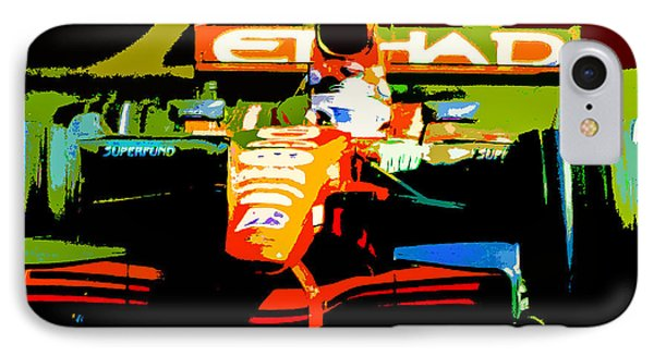 Formula One IPhone Case by Michael Nowotny