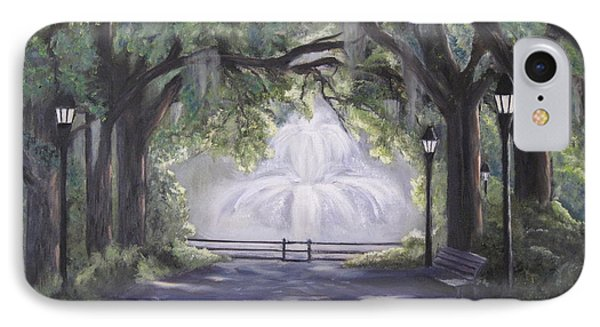 Forsythe Park IPhone Case by Roberta Rotunda