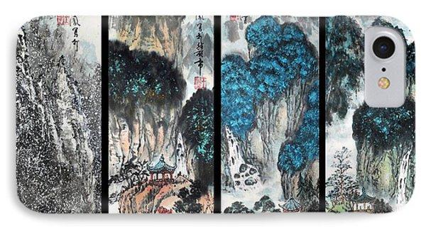 Four Seasons In Harmony IPhone Case