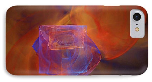 Fractal IPhone Case by Carol & Mike Werner