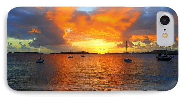 Frank Bay St. John U. S. Virgin Islands Sunset IPhone Case