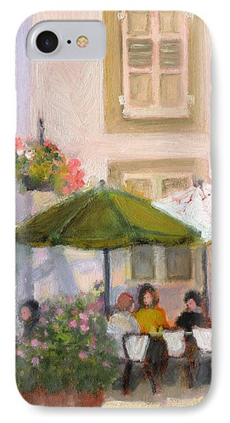 French Country Cafe Il IPhone Case by J Reifsnyder