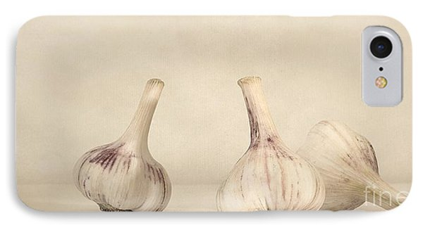 Fresh Garlic IPhone Case by Priska Wettstein
