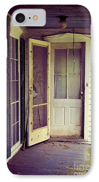 Front Door Of Abandoned House IPhone Case