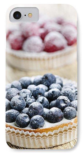Fruit Tarts IPhone 7 Case by Elena Elisseeva