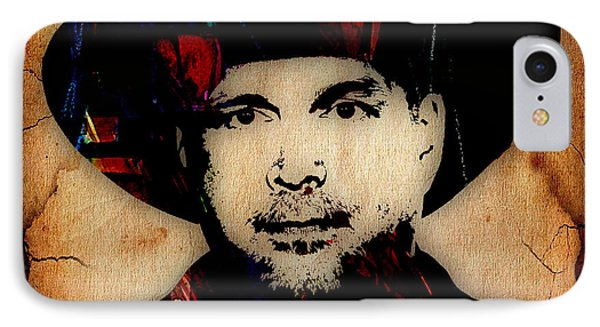 Garth Brooks Collection IPhone Case by Marvin Blaine