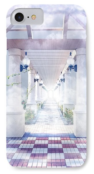 Gateway To Heaven IPhone Case by Rudy Umans