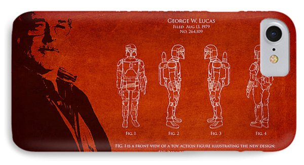 George Lucas Patent 1979 Phone Case by Aged Pixel