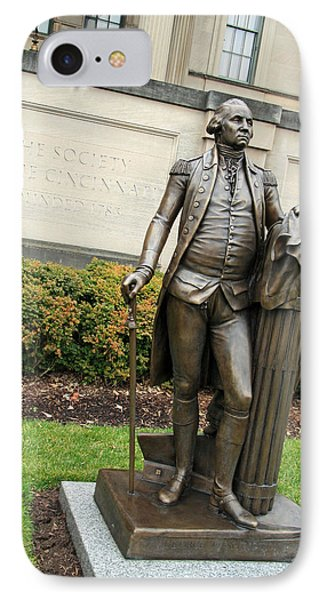 George Washington -- The American Cincinnatus IPhone Case by Cora Wandel