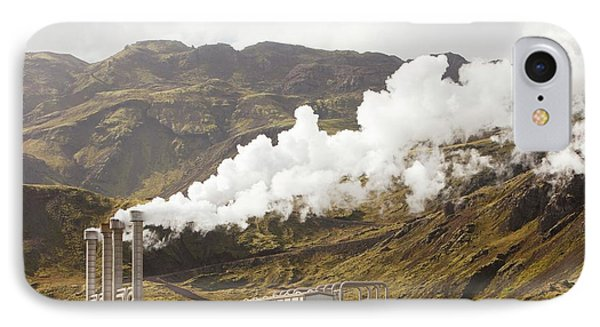 Geothermal Power Station IPhone Case by Ashley Cooper