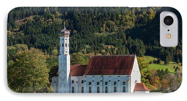 Germany, Bavaria, Hohenschwangau, St IPhone Case by Walter Bibikow