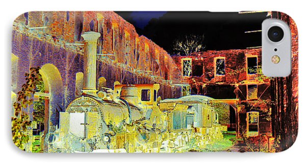 Ghost Train Phone Case by Chuck Staley