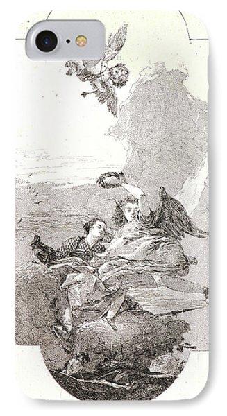 Giovanni Domenico Tiepolo Italian IPhone Case by Litz Collection