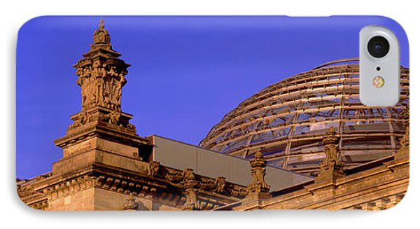 Glass Dome Reichstag Berlin Germany IPhone Case by Panoramic Images