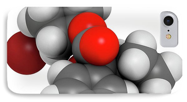 Glycopyrronium Bromide Copd Drug Molecule IPhone Case