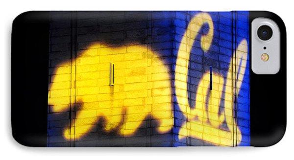 Golden Bear And Cal Logo IPhone Case