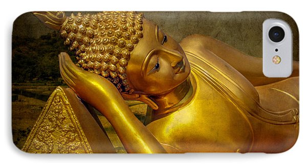 Golden Buddha IPhone Case by Adrian Evans
