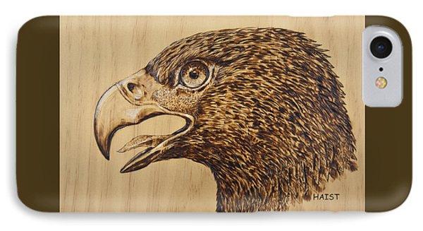 Golden Eagle Phone Case by Ron Haist