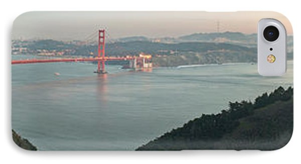 Golden Gate Bridge Across The Bay IPhone Case