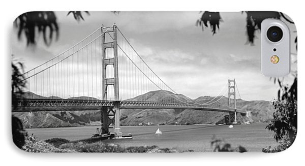 Golden Gate Bridge IPhone Case by Underwood Archives
