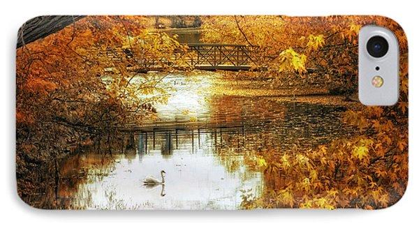 Golden Pond IPhone Case by Jessica Jenney