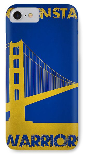 Golden State Warriors IPhone Case by Joe Hamilton