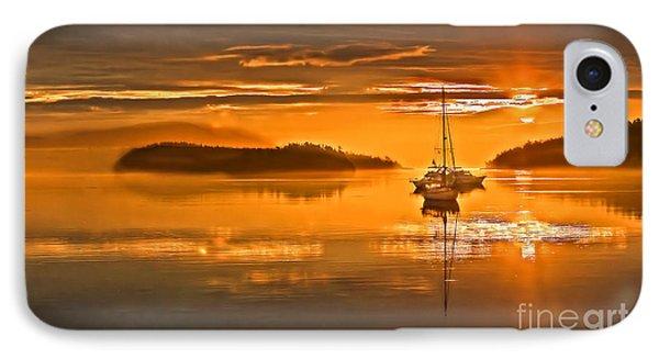 Golden  Sunrise Phone Case by Robert Bales