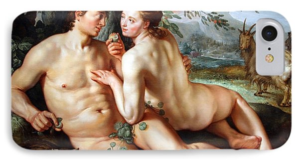 Goltzus' The Fall Of Man IPhone Case