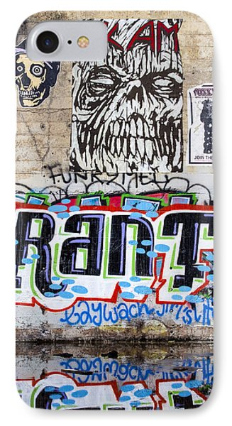 Graffiti IPhone Case by Carol Leigh