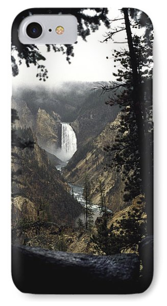 Grand Canyon Of The Yellowstone-signed IPhone Case