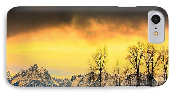 IPhone Case featuring the photograph Grand Tetons Wyoming by Amanda Stadther