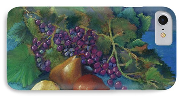 Grapes And Pears IPhone Case by Antonia Citrino