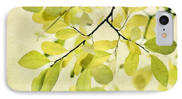 Green Foliage Series IPhone Case