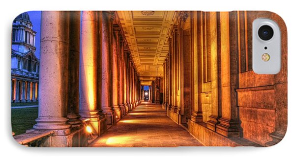 Greenwich Royal Naval College Hdr  IPhone Case
