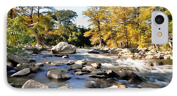 Guadalupe River  IPhone Case by Savannah Gibbs