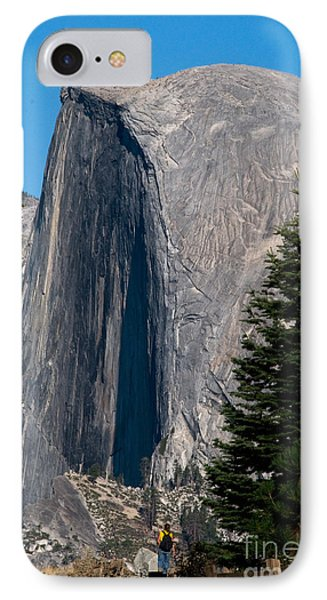 Half Dome, Yosemite Np Phone Case by Mark Newman