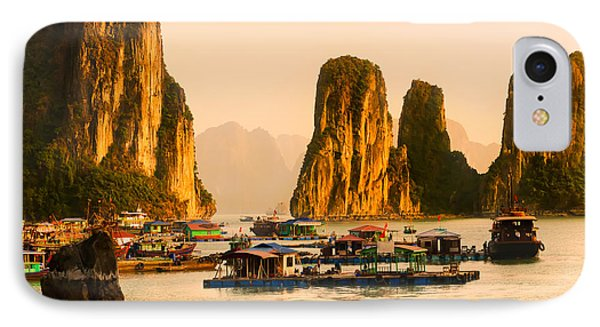Halong Bay - Vietnam IPhone Case by Luciano Mortula