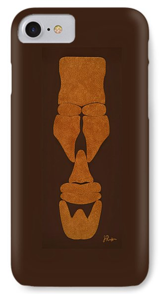 Hamite Male IPhone Case by Jerry Ruffin