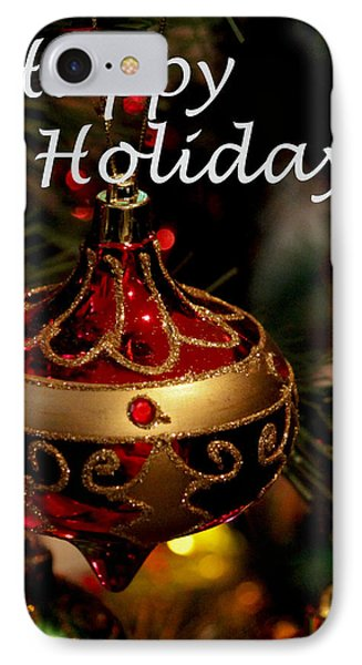 Happy Holiday IPhone Case by Ivete Basso Photography