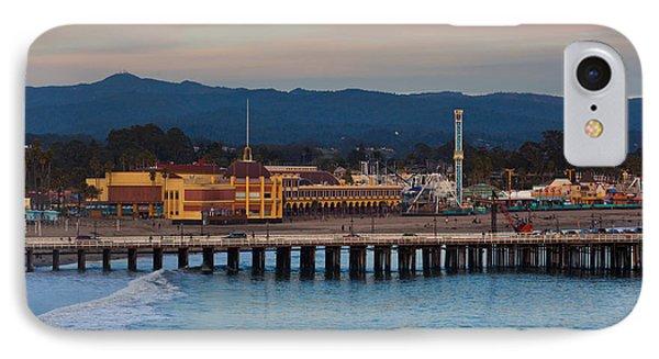Harbor And Municipal Wharf At Dusk IPhone Case
