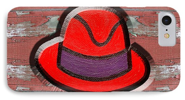 Big Red Hat IPhone Case by Patrick J Murphy