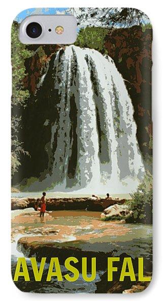 Havasu Falls Grand Canyon IPhone Case by Stephen Stookey